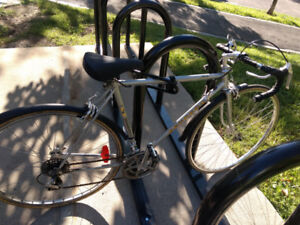 ROAD BIKE, PEUGEOT UO 8, 24-INCH FRAME, 27-INCH TIRES, GRAY