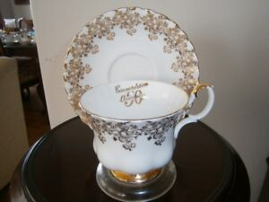 ROYAL ALBERT 50TH ANNIVERSARY CUP AND SAUCER SET