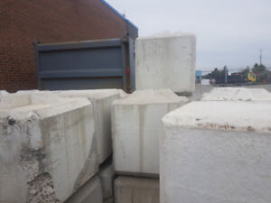 CONCRETE BLOCKS FOR SALE