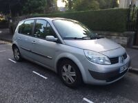 2004 RENAULT MEGAN SCENIC 1.9 DCI DIESEL 5 SEATER MPV MOT 1 YEAR GOOD DRIVER PX SWAP
