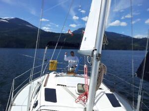 Sailing Charter/ rental / Learn to Sail on Kootenay Lake BC