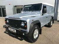 2013 Land Rover Defender 110 2.2 D DPF Hard Top 3dr Diesel silver Manual