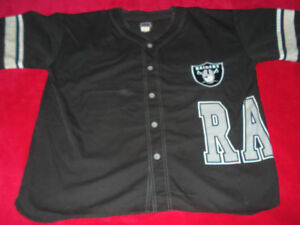 Men's XL Officially Licensed Vintage Raiders Jersey