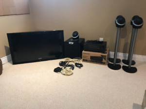Complete Home Theatre Package - Amazing sound!