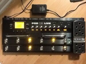 Line 6 POD X3 Live for Guitar or Amp