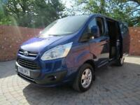 FORD TRANSIT CUSTOM 270 L1 H1 LIMITED SWB 130 BHP AIR CON BLUETOOTH 3 SEATS