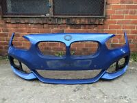 Bmw 1 series m sport latest shape 2015 2016 genuine front bumper for sale