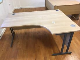 4 x high quality corner desks on clearance @ just £40 each
