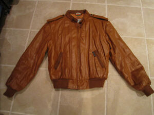 Mens Members Only Leather Jacket size 44