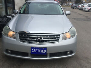 2006 Infiniti M35 X ,AWD,BACK  UP CAMERA,DVD,CERTIFIED