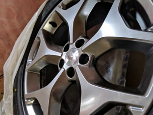 OEM Subaru Forester rims and tires