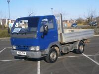 2001 51 NISSAN CABSTAR 2.7TD E95 L SWB DROPSIDE PICK UP TRUCK BLUE EXPORT