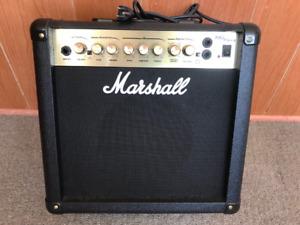 Marshall MG15 Guitar Amplifier ($80 obo)