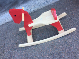 Lots of baby items - Little Tikes, Rocking horse, FAO Schwartz++