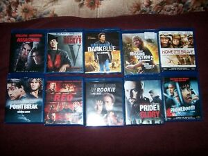 10 BLURAY MOVIES                   FOR SALE