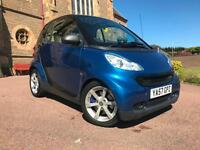 *12 MTHS WARRANTY*2008 SMART FORTWO 1.0 PULSE AUTOMATIC TRIP TRONIC WITH 75K*