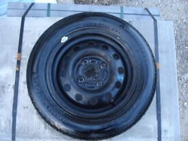 """Ford KA 13"""" spare wheel with tyre good condition"""