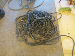 250 feet 10 gauge 3 wire [ black,white,and green wire. ]