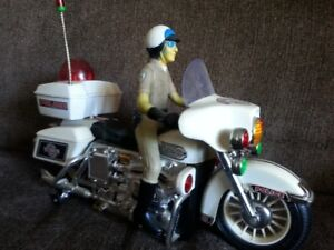1980s Chips Style TV Show Like Motorcycle,battery operated