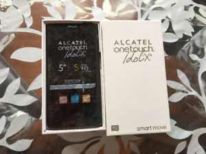 New Unlocked: Alcatel Idol X+ (in box): Android smart phone