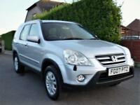 HONDA CRV V-TECH 2.0 SPORT AUTOMATIC SE SUV ESTATE