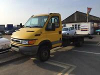 Iveco-Ford 65C15 C/CAB Flat Lorry Recovery truck 6.5t 2.8Diesel