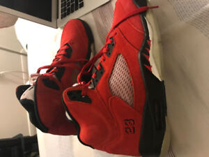 VVNDS Air Jordan 5 raging bull size 11 replacement box