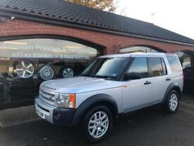 2007 '07' LAND ROVER DISCOVER 3 2.7 TDI MANUAL SEVEN SEATS