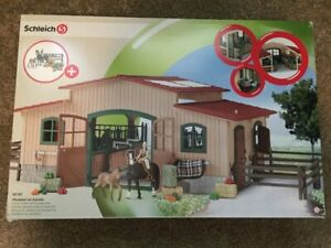 Schleich riding centre with horses