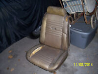 1967 CHEVELLE SS POWER BUCKET SEATS WITH HEADRESTS