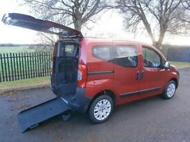 2010 Fiat Qubo 1.3 Multijet Active 5dr AUTOMATIC WHEELCHAIR ACCESSIBLE VEHICL...