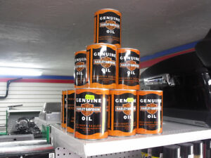 Limited Edition H-D Genuine Vintage Oil Cans