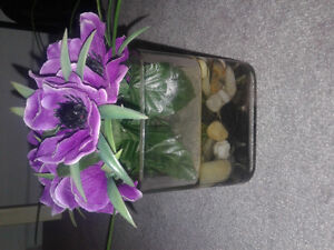 Two flower accents 40$ for both or 25$ each