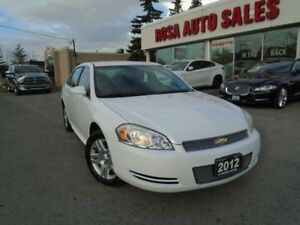 2012 Chevrolet Impala AUTO 4DR P WINDOWS  LOCKS A/C ALLOY  NO AC