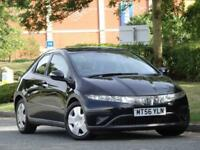 Honda Civic 1.4i-DSI SE 2007 +9 SERVICE STAMPS +12M MOT +WARRANTY +2 KEYS