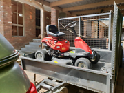 Heavy Duty Garden Trailer   Ride on Mower Southbank Melbourne City Preview
