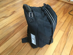 Magnetic expandable, motorcycle tank bag, , map pocket on front