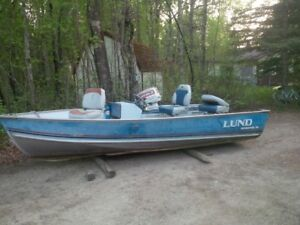 14' Lund boat Only
