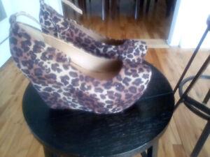 Soulier leopard