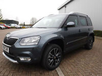 Skoda Yeti City Ambition 1.4 TSI 150 4 X 4 Left Hand Drive(LHD)