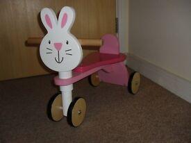 Wooden Trike child bike