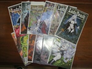 Avatar Press 2010 Lady Death Boundless Comic Book Lot