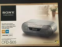 BNIB Sony CD Radio Cassette Recorder