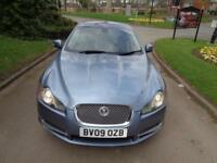 2009 Jaguar XF 2.7TD auto Luxury [1 OWNER+NEW MOT+SAT NAV+PHONE+LEATHER+FSH]