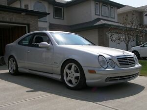 2002 Mercedes-Benz CLK 430 AMG package & Lorinser