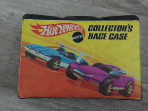 HotWheels Collector's Race Case- from 1960s