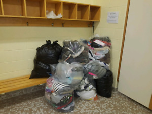 CLOTHING DONATIONS NEEDED!