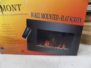 Fire Place Wall Mount 300.00 Size  22 x 35 Call 727-5344