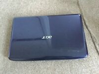 "Acer aspire 5738 15.6"" dualcore Windows 7 laptop"