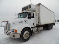2006 KENWORTH T300 WITH 24' REFER BODY AT WWW.KNULLENT.COM